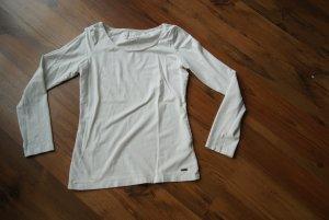 weißes basic Shirt/Langarmshirt