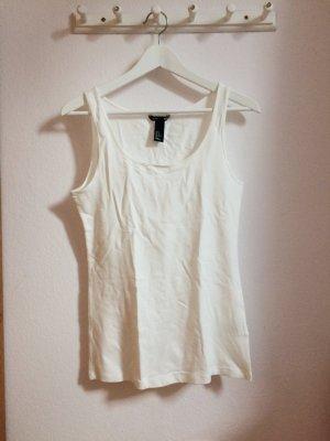 Weißes Basic Top von H&M