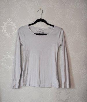 Weißes Basicshirt Organic Cotton