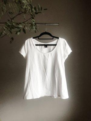 Weißes Basictop von H&M