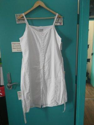 weißes Baumwollen Kleid