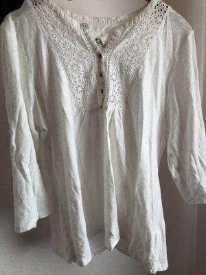 Weißes Bluse
