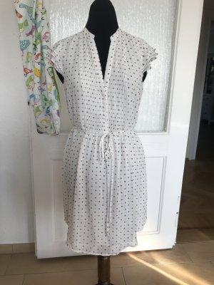 Weißes Blusenkleid