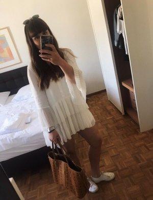 Zara Woman Camicetta lunga bianco
