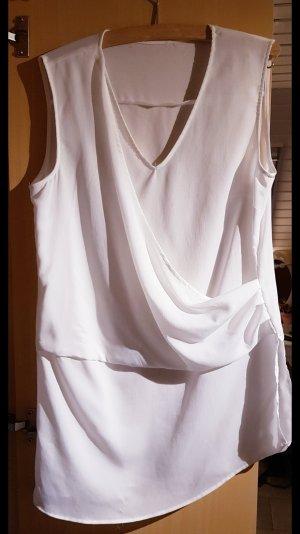 weißes Blusenshirt