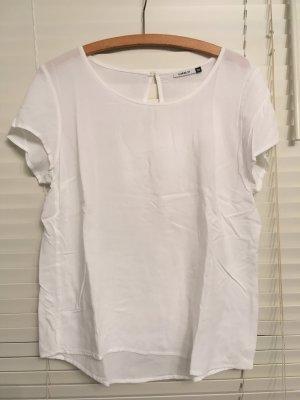 Weißes Blusenshirt von Only Gr. 38