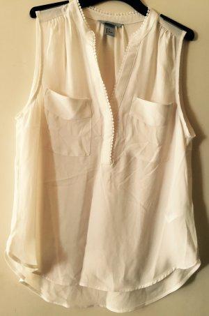 Weißes Blusentop von H&M