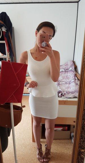 weißes Bodycon Kleid