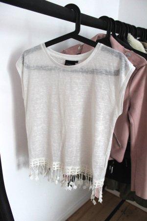B.young T-shirt bianco