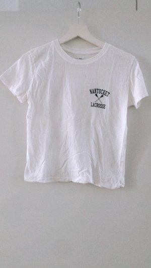 weißes Brandy Melville Shirt