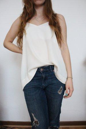 Weißes Cami / Oberteil aus der H&M Conscious Collection