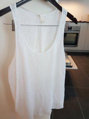 H&M Basic Top white