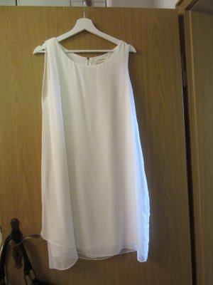 Naf naf Chiffon jurk wit