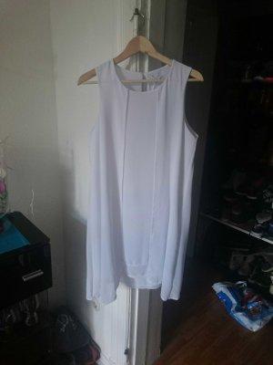 weißes cocktailkleid/oversize kleid