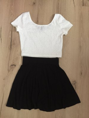 H&M Divided Crop-top blanc