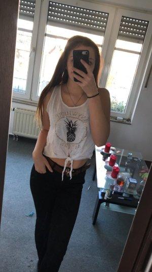 Tally Weijl T-shirt court blanc