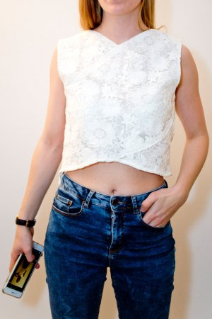 Oasis Cropped Top multicolored