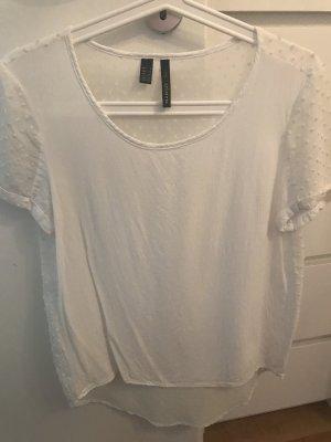 Weißes dünnes Shirt