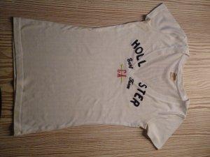weißes/durchsichtiges Hollister T-shirt