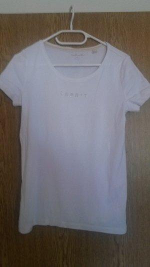 Weißes Esprit Shirt mit Strass
