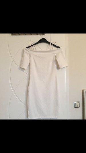Weißes figurbetontes Kleid