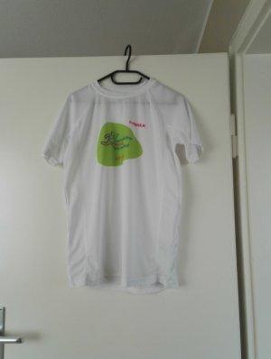 Weißes Firmenlauf Shirt von Merck