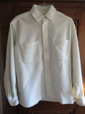 Weißes  Fleecehemd  - Bluse von Bogner