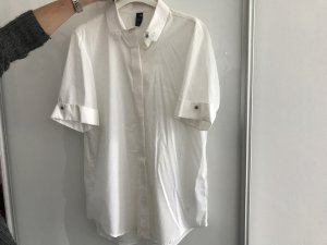 G-Star Short Sleeve Shirt white cotton