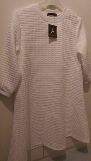 Weißes gestepptes Kleid Neu!