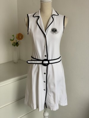 Golfino Polo Dress white-black