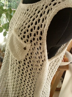 Smilla Crochet Top white-natural white cotton