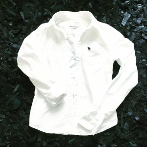 weisses hemd / bluse von A&F