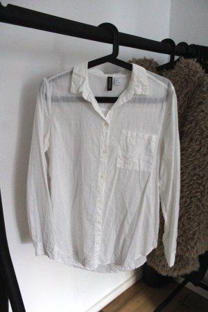Weißes Hemd H&M