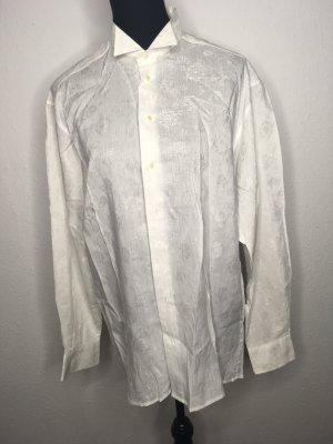 Weißes Hemd mit Muster