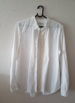 Weißes Hemd von Lacoste Größe 46