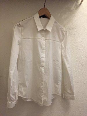 Weißes Hemd von the Kooples mit Cut Outs