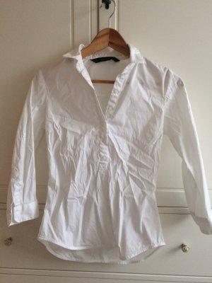 Weißes Hemdshirt von Zara