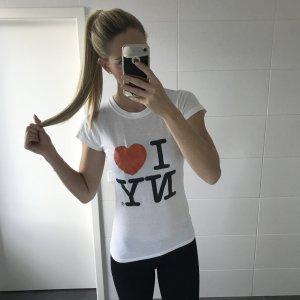 weißes I LOVE NCY Shirt
