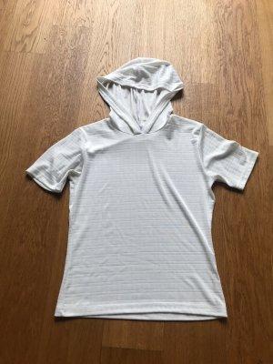 Weißes Kapuzen Shirt Größe M von beyond basics