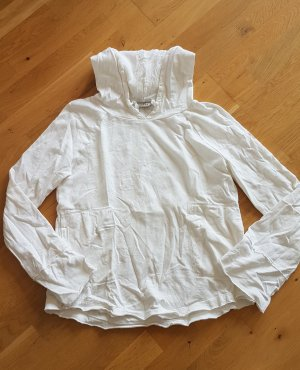 Deha Blusa con capucha blanco Algodón