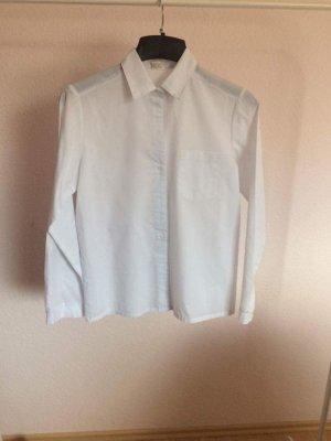 Weißes klassisches Hemd