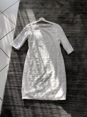 Bodyflirt Gebreide jurk wit
