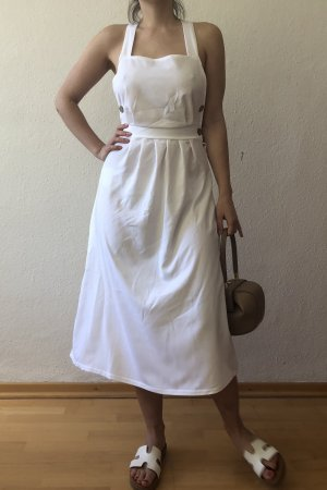 Robe chiffon blanc