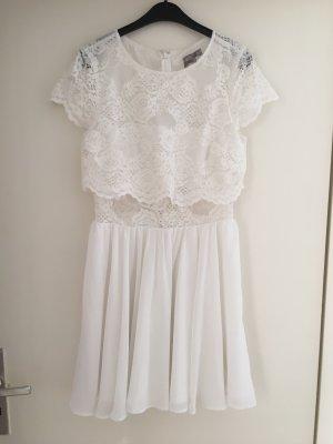 Asos Lace Dress white