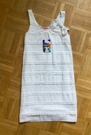 Weißes Kleid aus Spitze von Desigual, neu