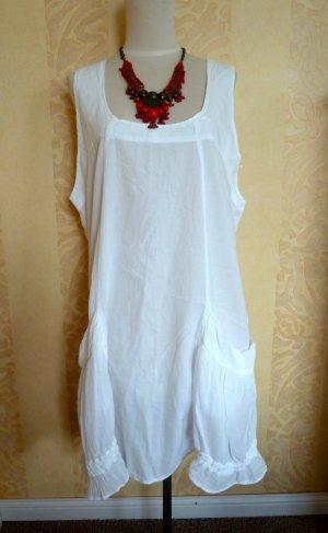 Weisses Kleid für Sommer, Gr.40/42, NEU !