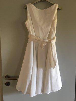 Weißes Kleid Gr D 36 Tara Jarmon