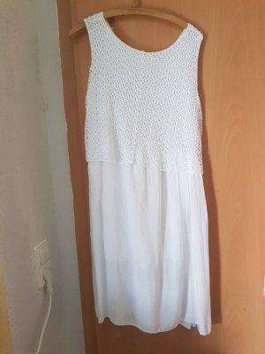 weißes Kleid Größe M