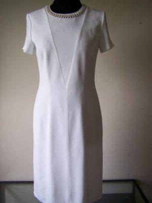Weißes Kleid HUGO BOSS, NEU. HP 499€, Gr. 34, Original, m.Futter