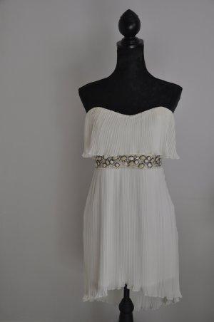 Weißes Kleid mit Bestückung von Jane Norman